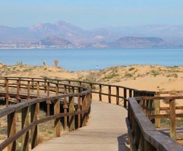 """Playa de """"EL CARABASSI"""" Paraje natural en la Costa Blanca"""