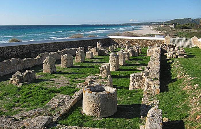 basilica paleocristiana playa de Son Bou