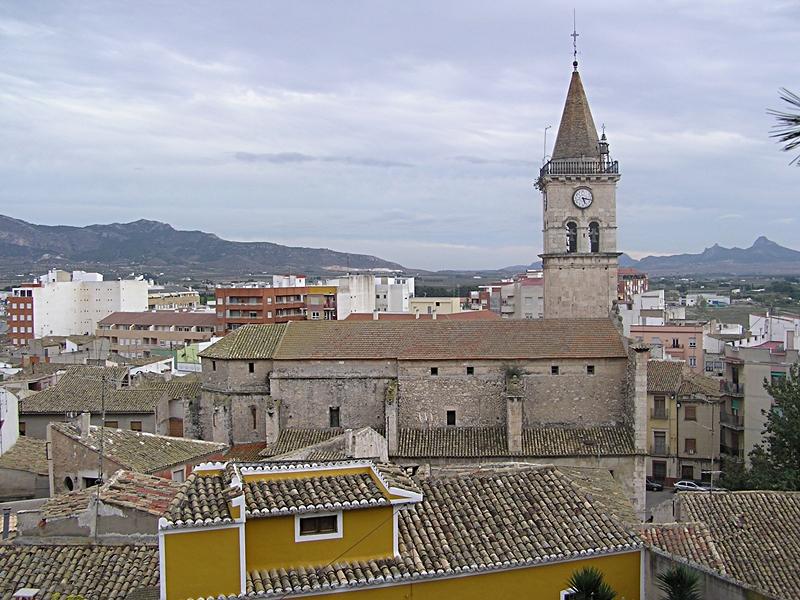 Villena. Iglesia de Santa Maria