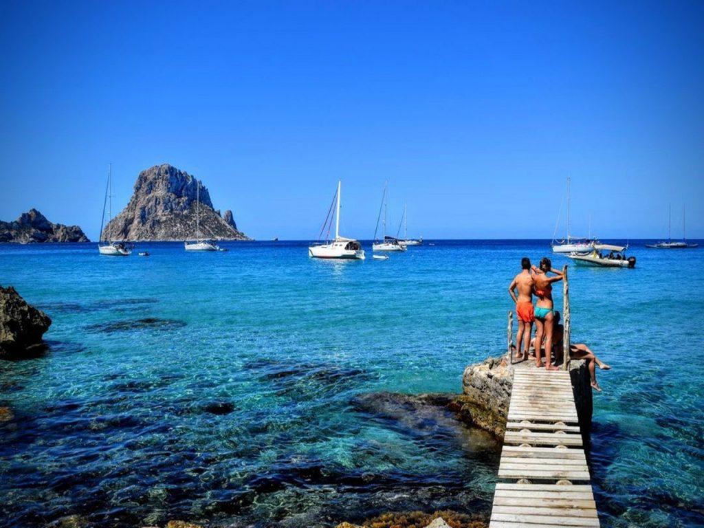 Cala D`Hort. Playas y calas en Ibiza