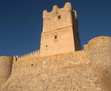castillo y vistas de Villena