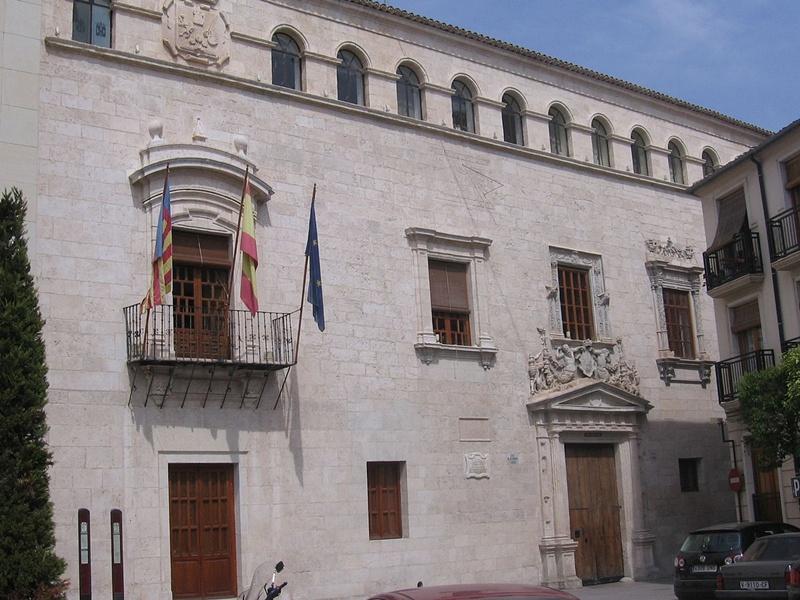 Ayuntamiento Villena-Fachada Principal