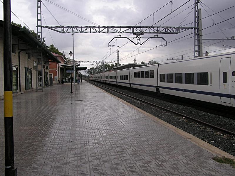 Estacion de tren Villena