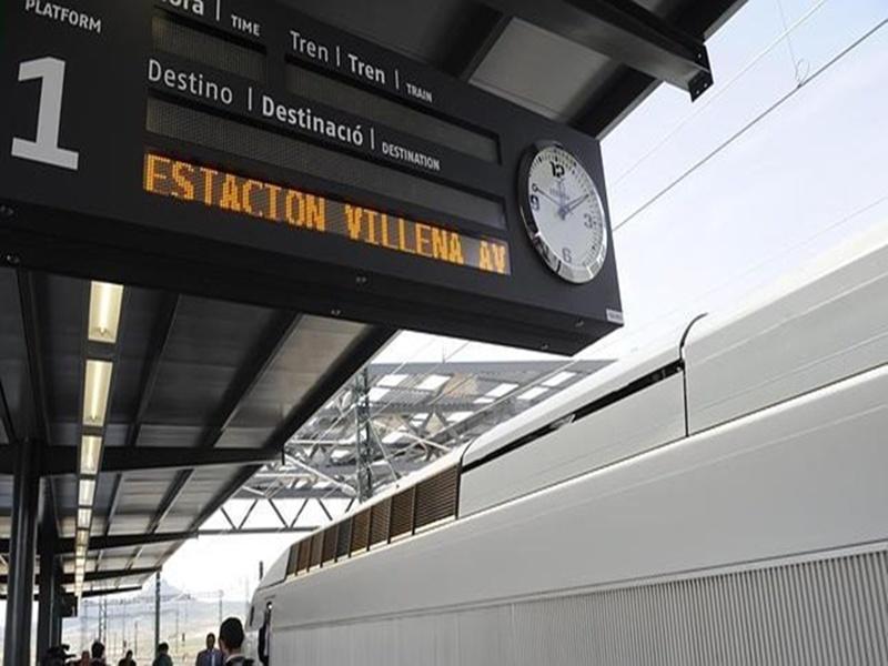 estacion villena- AVE