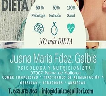 Juana Maria Fernandez- Clinica Equilibri-Palma de mallorca
