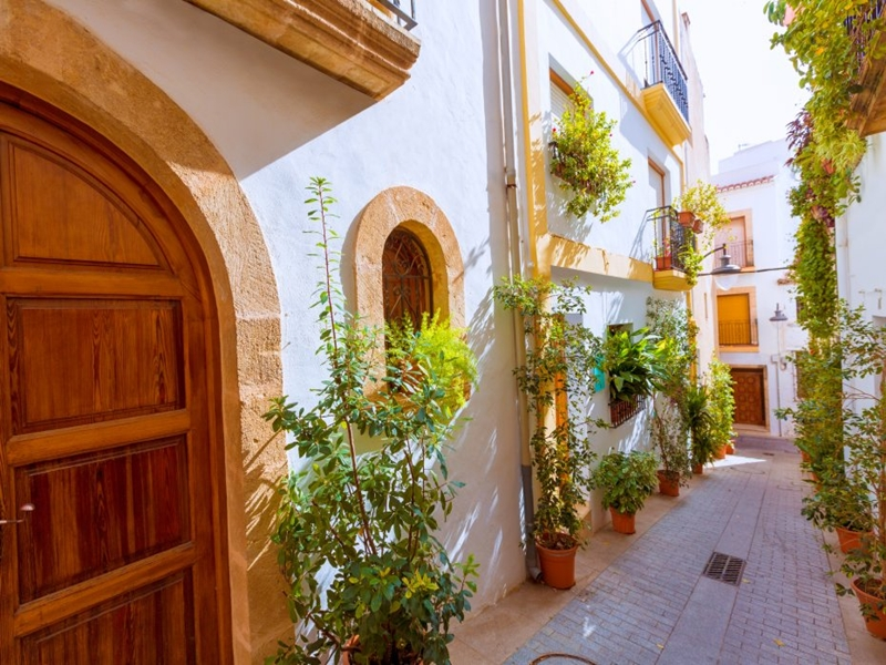 javea_calle tipica