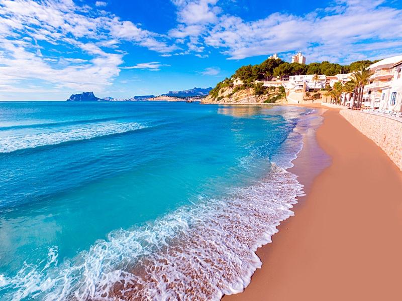 Moraira-Playa El Portet