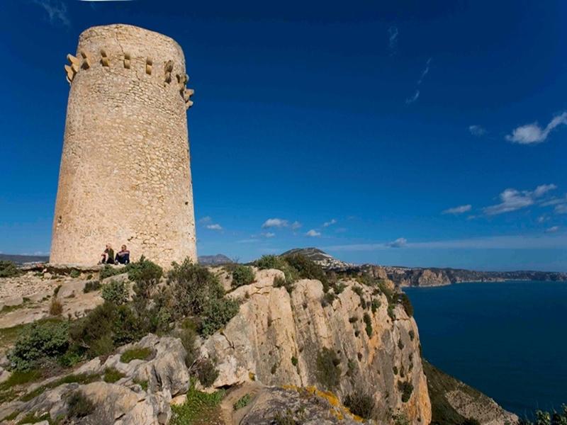 Teulada-Moraira.Torre vigia del Cap D'Or