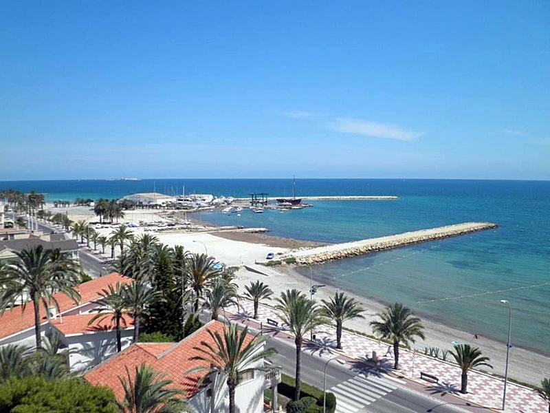 Santa Pola- Paseo en la playa