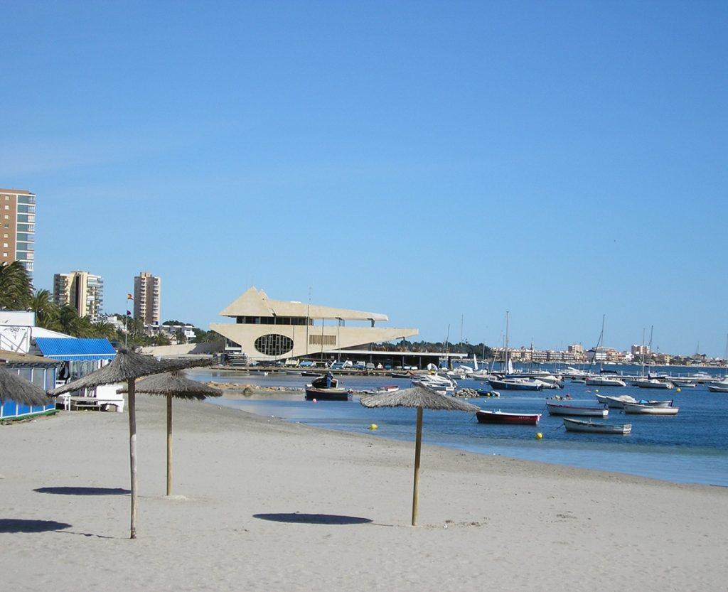 playa en Santiago de la Ribera